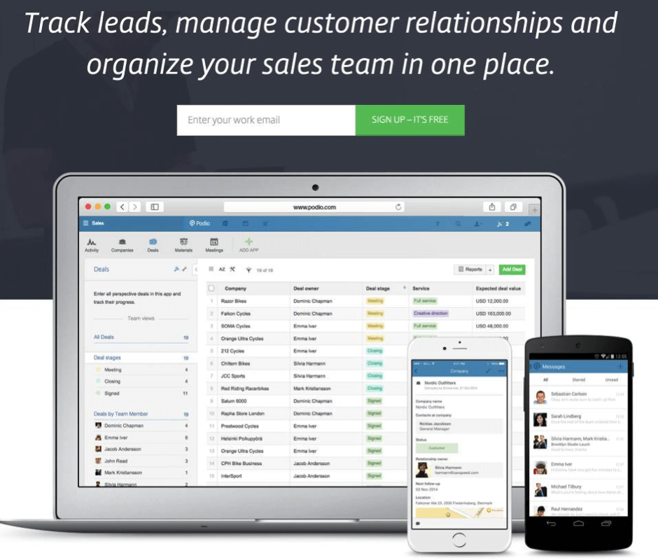 track-leads-manage-customers