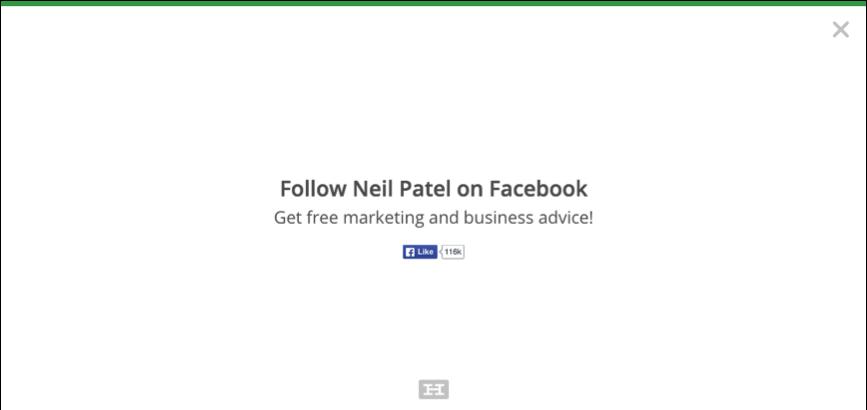 Exit-intent popups neil patel
