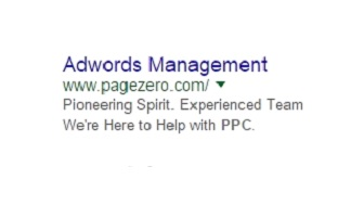 adwords managment