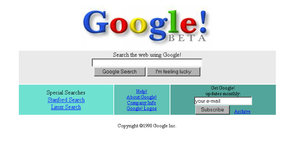 google-beta-homepage