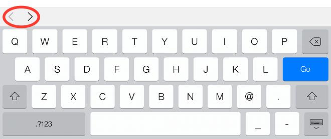 tabindex keyboard