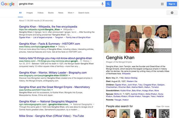 google genghis