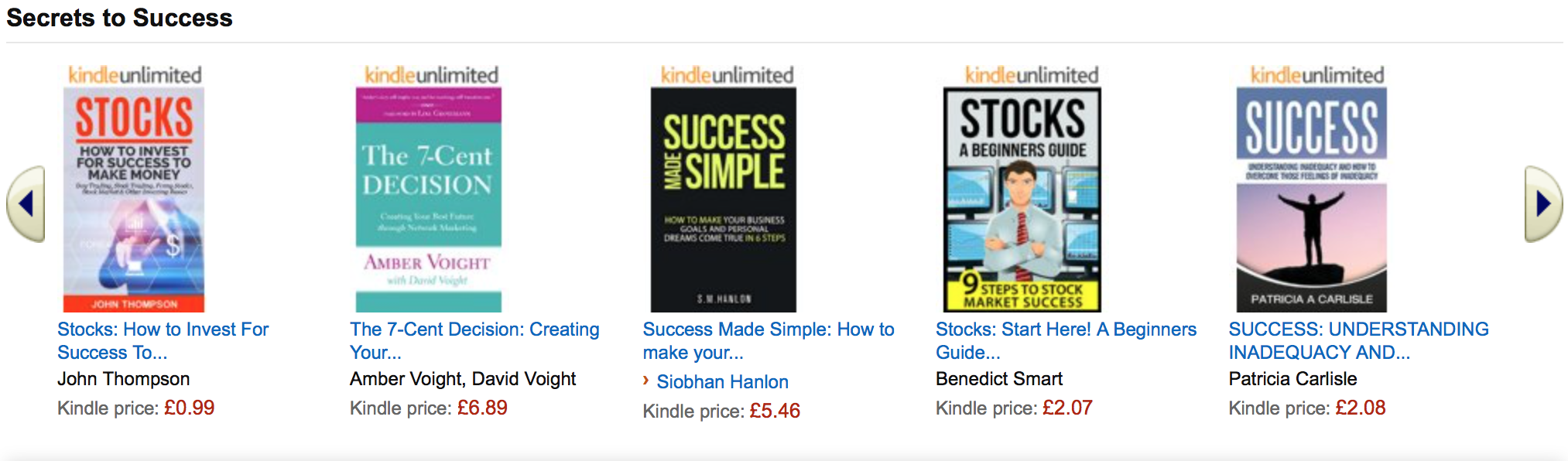 How to build your marketing list through the amazon kindle store in fact if you take a quick look at some of amazons recommended ebooks im pretty certain youll find the title formulae quite familiar fandeluxe Images
