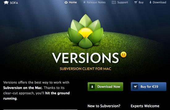 Versions App