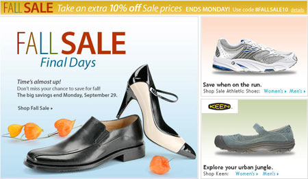 Online Shoes Halloween Marketing