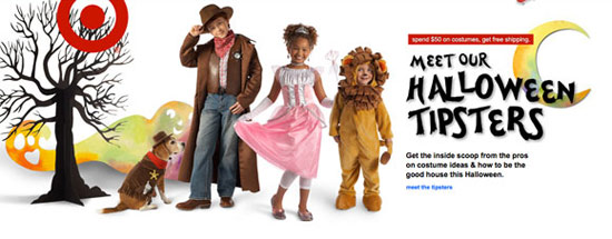 Target Halloween Marketing