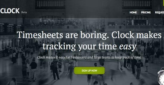 Get Clock Website Design