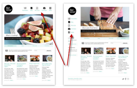 Food Sense Repsonsive Website Design