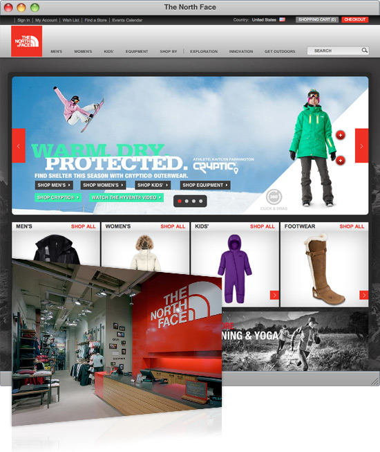 The North Face Brand Experience