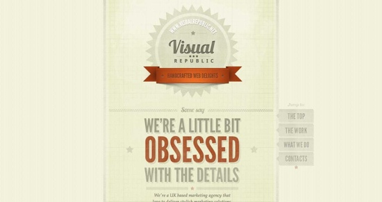 Visual Republic ~ Handcrafted Web Delights