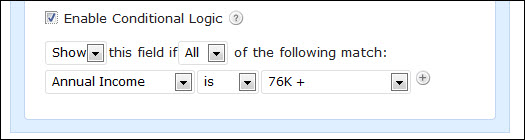 Contact Form Plug In For WordPress with Conditional Logic