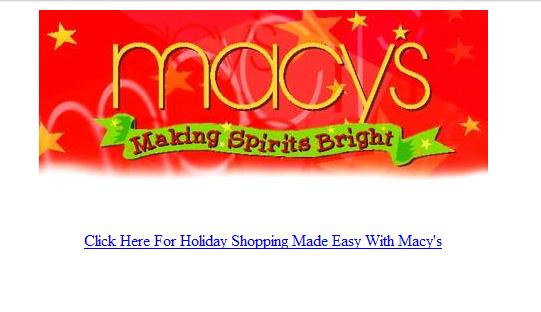 Macys Website From the 1990s