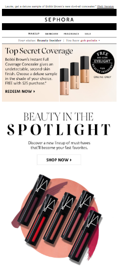 design-email-newsletter-template-what-is-sephora