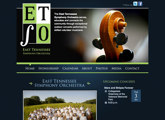 east tennessee symphony orchestra