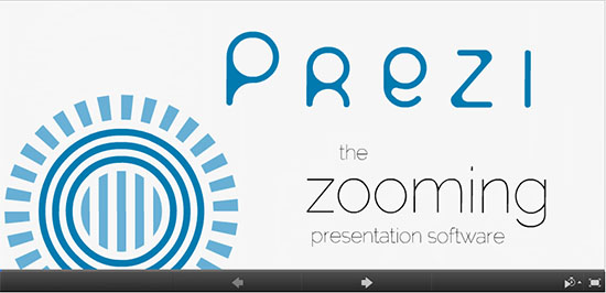 7 outstanding example presentations using prezi, Modern powerpoint