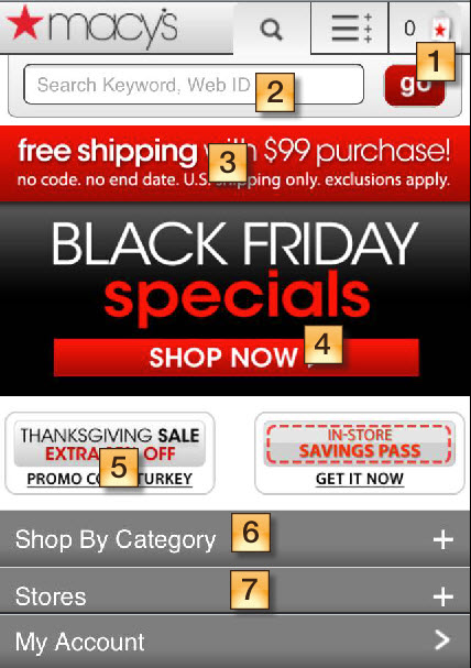 Macys Black Friday Mobile