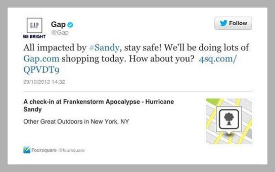 gap - The Lighter Side - Day Fourteen - Branding From A Corporate Perspective