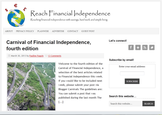 reach financial independence