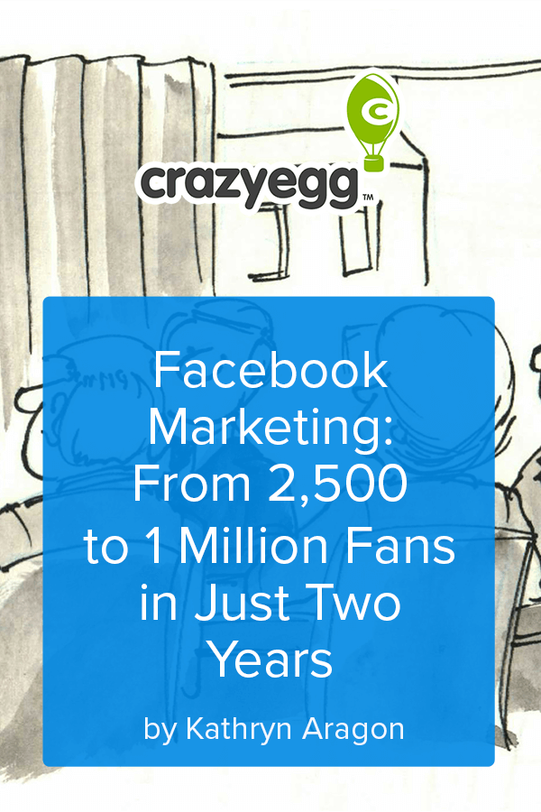 Facebook Marketing From 2500 to 1 Million Fans in Just Two Years