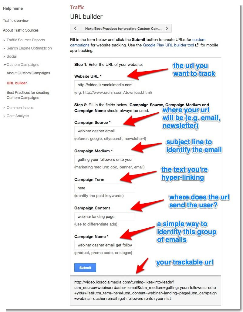 how to find an google email url