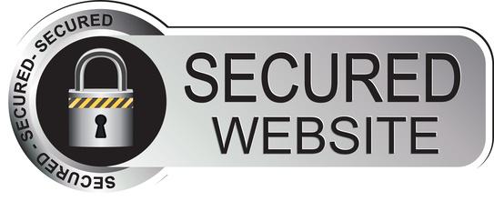 Secured Website Sticker