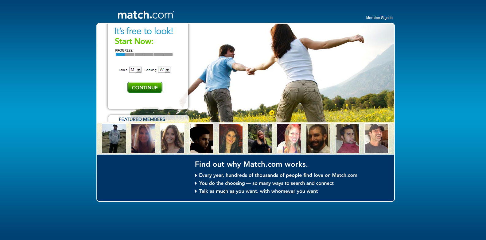 I match dating site