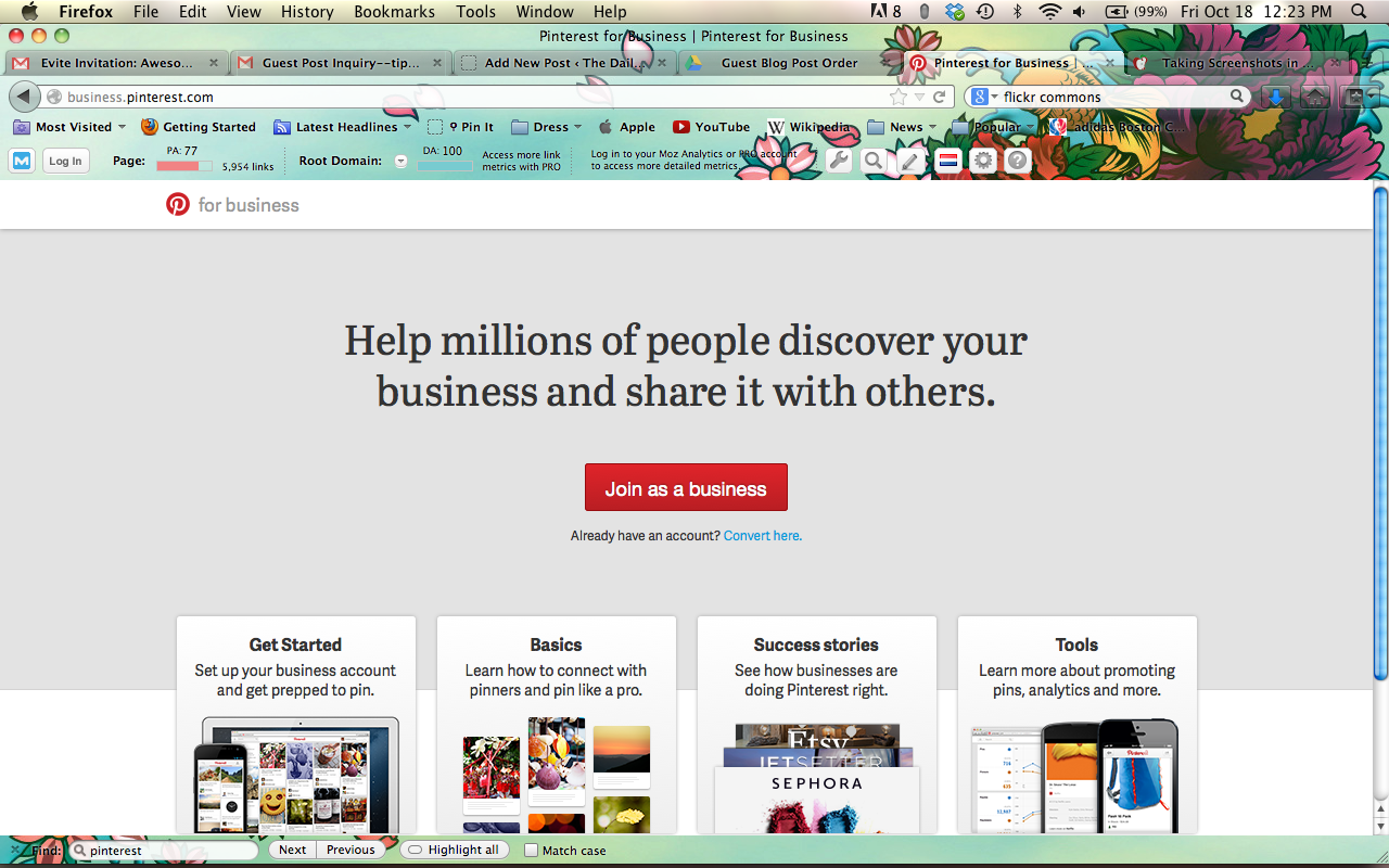 how to delete pinterest business account