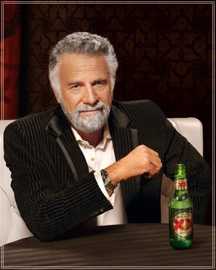 image of the most interesting man in the world