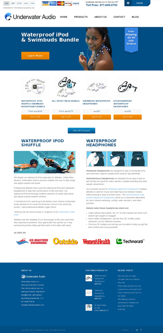 Recent Website Marketing and SEO Projects Rowboat Media