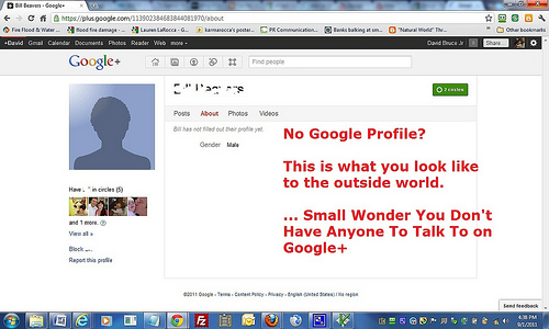Get social with Google+