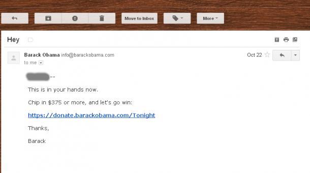 barack obama email