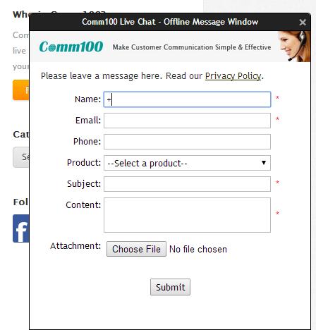 offline message