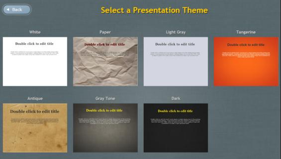 12. EWC presentation choices