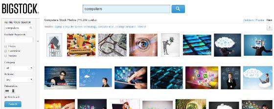 Bigstock image search