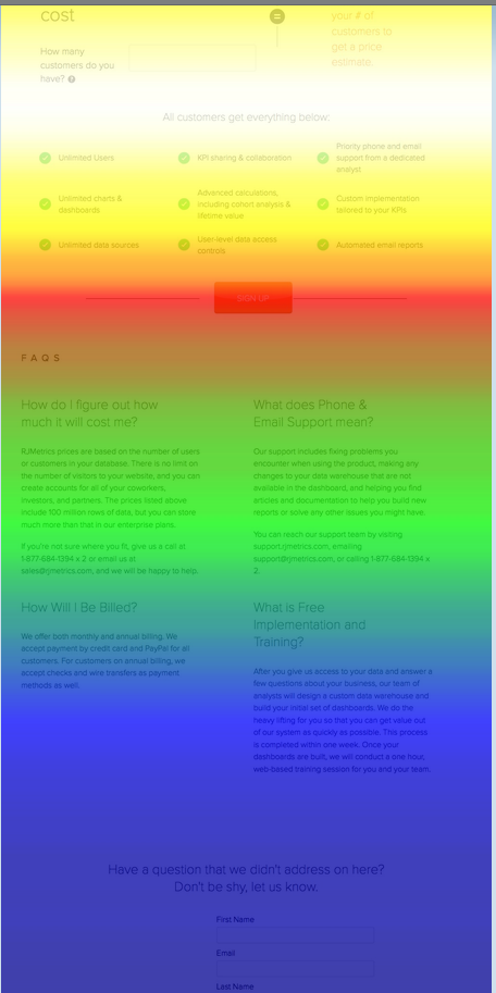 pricing page 5