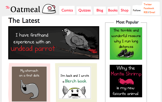 the oatmeal graphics