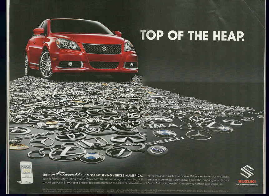 Suzuki Ad  Year Old Car