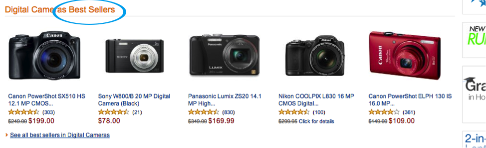 best selling cameras