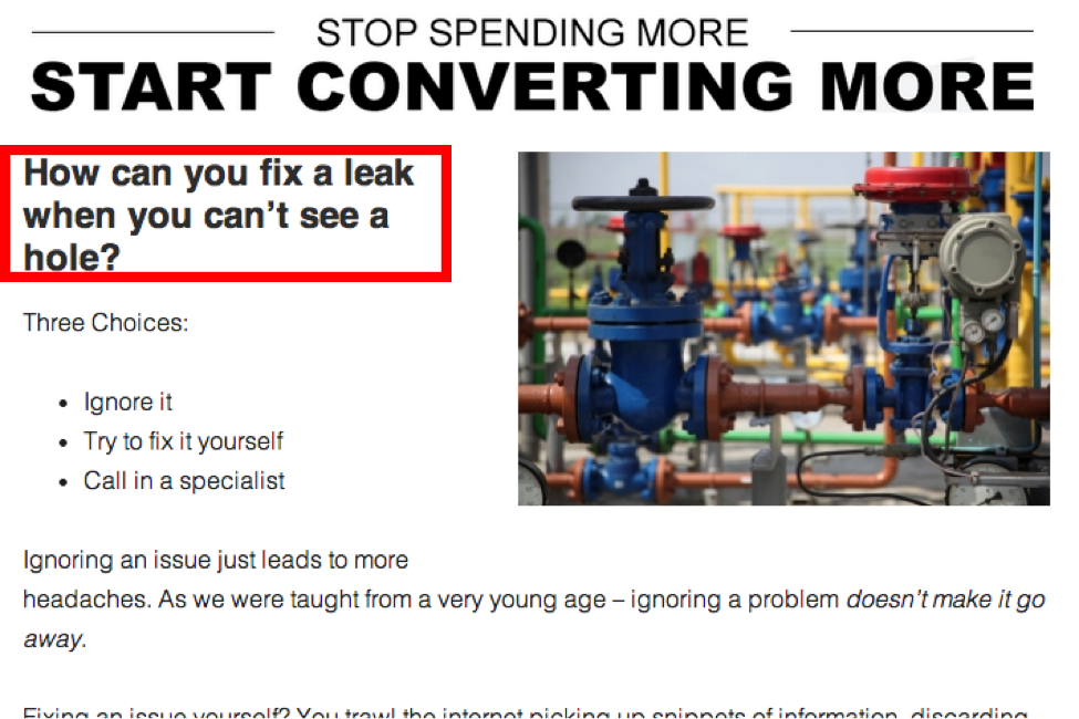 converting more