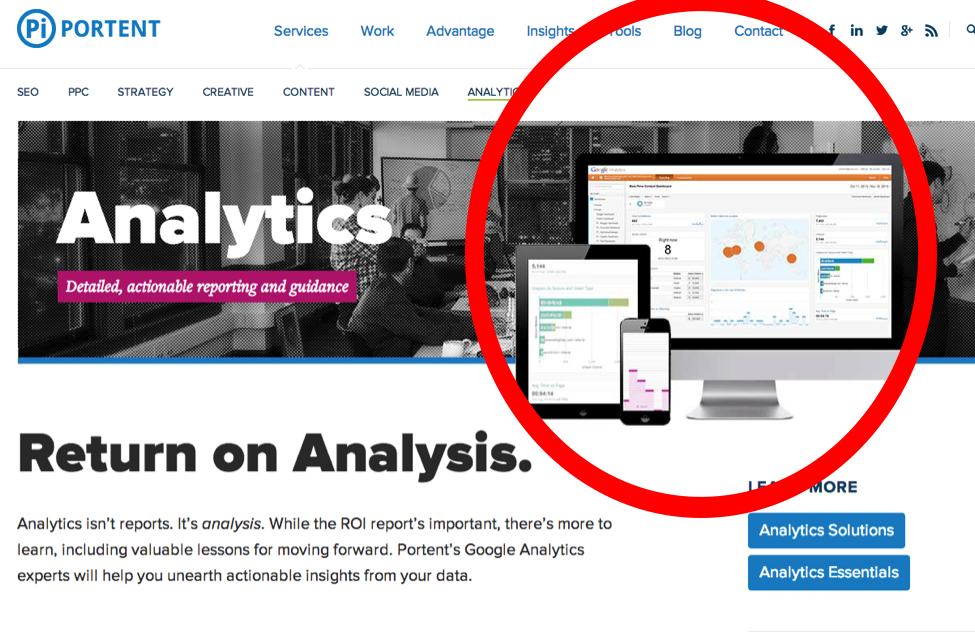 return on analytics