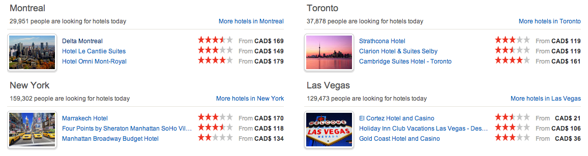 Hotels.com scarcity