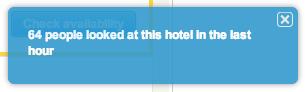 Hotels.com scarcity 3