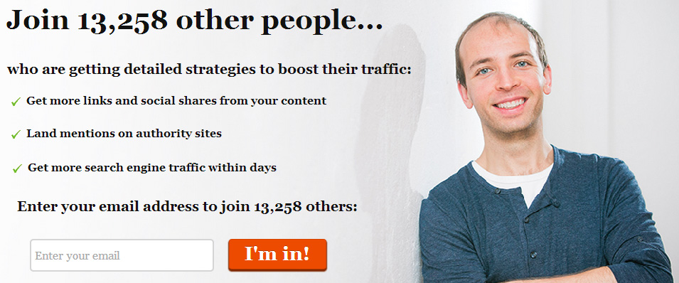 Email list social proof