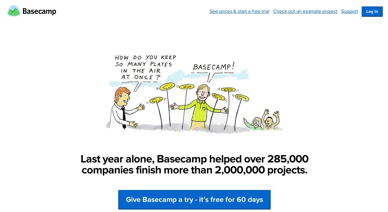 Basecamp trail
