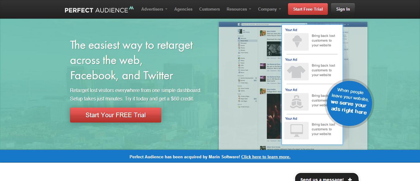 Facebook Web Retargeting Made Simple Perfect Audience