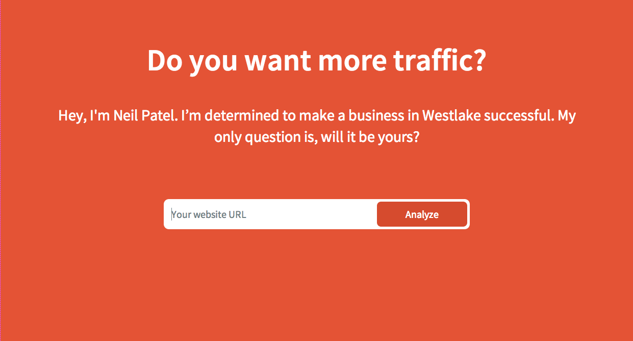 want more traffic