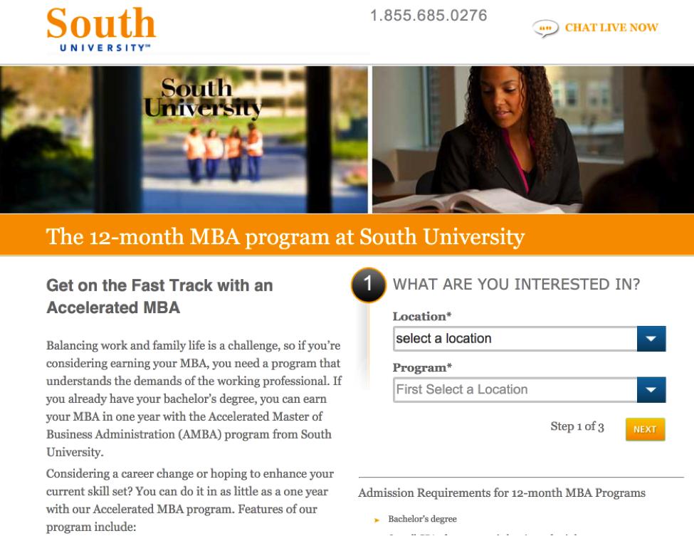 South Univerity CTA