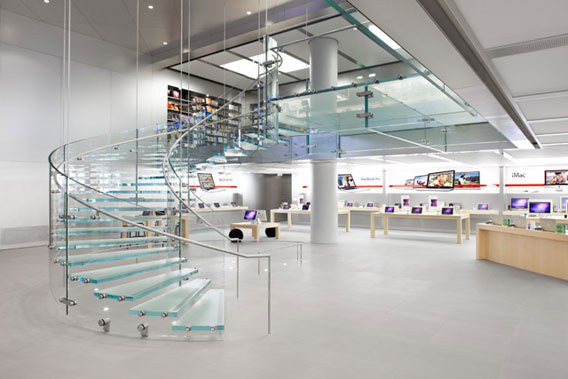 apple store interior view