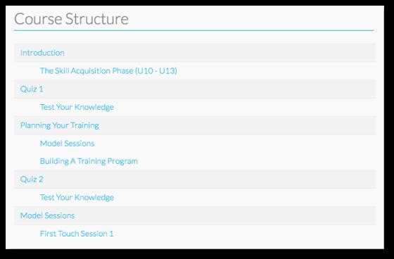 coursepress structure