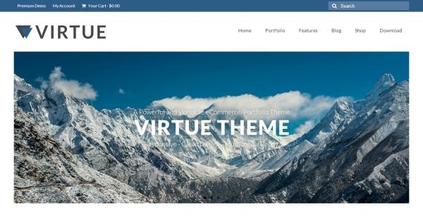 virtue theme wordpress